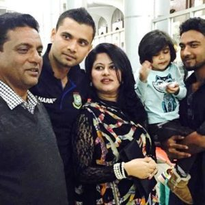 Mashrafe family photo
