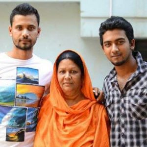 mashrfe, mashrafe mother and brother